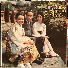 HORACE SILVER THE TOKYO BLUES BLUE NOTE 84110 NEW YORK USA STEREO LP CLEAN!