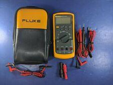 Fluke 83V 83-5 Multimeter, Screen Protector, Soft Case, More