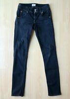 Hudson Dark Wash Skinny Jeans Collins Stretch Ankle Flap Pockets Sz 24 x 30 Troi