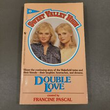 Sweet Valley High Double Love Book #1 Francine Pascal Paperback