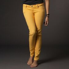 $79 Fox Racing Women's Skinny Ripper Gold Jegging Size 7/28