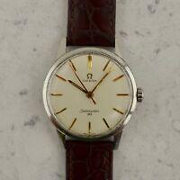 C.1963 Vintage Omega Seamaster 30 wristwatch ref.135.003-62 SC Ω286 in steel