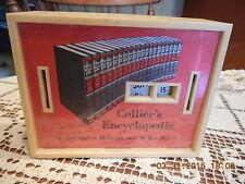 Collier's Encyclopedia Calendar Coin Bank