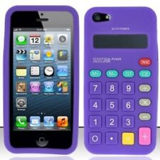 Calculator Novelty Design iPhone 4/4s Silicone Case - PURPLE