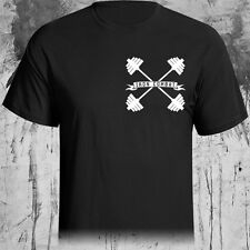 Iron Combat shirt graphic tee gym weightlifting crossfit power lifting fitness
