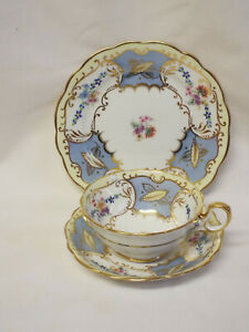 Antique Paragon Star China 6121 pattern cup,saucer & side plate.
