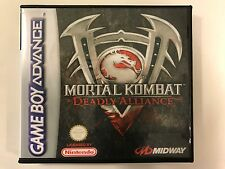 Mortal Kombat Deadly Alliance - GBA - Replacement Case - No Game