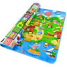 2 SIDE BABY PLAY MAT KIDS CRAWLING EDUCATIONAL SOFT FOAM BABY CARPET 200X180CM