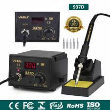 937D Soldering Iron Station 45W SMD Welder Welding Tool Kit 6 Tips Stand 230V