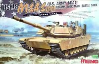 Meng Models 1:35 M1A1 AIM Abrams TUSK USMC MBT Tank Model Kit
