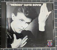 ** David Bowie Heroes CD MADE IN JAPAN ORIGINAL RCA PCD1-2522 RARE! AA-36