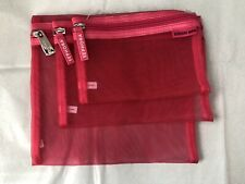 Sephora Mesh Travel Bags, Set Of 3, Brand New Never Used