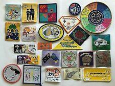 24 x Australian Girl Guide Bulk Badges / Patches Collection - Guides Australia