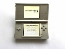 Nintendo DS Lite Original Handheld System Games Console Silver + Charger
