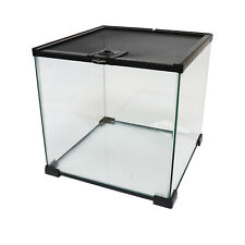 Stackable Nano Glass Habitat Terrarium - 31x31x30cm - Optional Extras