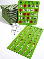 JUMBO Bingo Kit w/ 50 JUMBO Reusable Slider Cards, Masterboard & Calling Cards