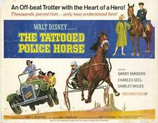 THE TATTOOED POLICE HORSE Movie POSTER 22x28 Half Sheet