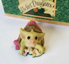 """""""Party Hat"""" Whimsical World of Pocket Dragons by Real Musgrave with Box"""