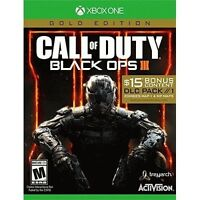 Activision Call of Duty: Black Ops III Gold Edition Brand New