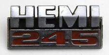 Used Chrysler Valiant Hemi 245 Badge Genuine 71 x 32 mm Spares Restoration