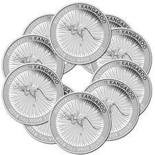 10 x 1 oz Silber Känguru 2018 - 1 Dollar Australien - Silbermünze 999,9
