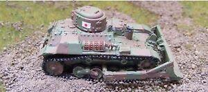 MGM 080-143 1/72 Resin WWII Japanese TE-KE Model 97 Light Armored Dozer