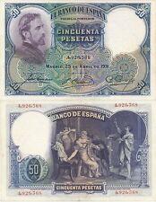 España - República Española- Año: 1931 - Nº 00375 - 50 pta. 1931 SC-