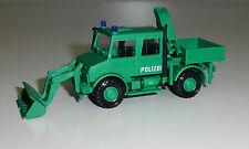 Roco Miniatur Modell 1497 MB-Unimog U1700 Polizei Bergeräumgerät 1:87 NEU-OVP