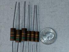3 count of 1 watt, 5% resistors, Allen Bradley Carbon Composition