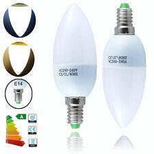 6 /12x E14 B22 B15 E27 BC ES 3W 5W 7W LED SMD Candle Globe Bulbs Light Spotlight