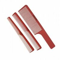 BaByliss PRO Barberology Barber Red Clipper, Cutting & Taper Comb 3PC Set