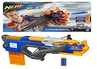 Nerf N-Strike Elite CrossBolt Blaster Ages 8+ Toy Gun Play Fight Dart Clip Fire