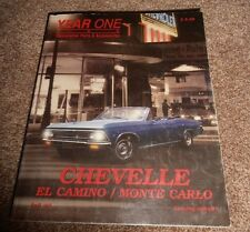 Year One Restoration Parts & Accessories Chevelle El Camino Monte Carlo Catalog