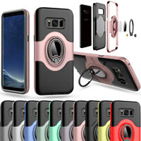 Shockproof 360 Rotate Holder Stand Case For Samsung Galaxy S7 / Edge S8 / Plus