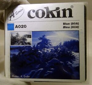 Cokin 020 Blue 80A (A020) Filter Genuine France  - Free Shipping Worldwide