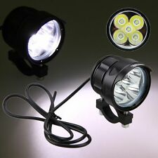 50W 5000LM 5x XM-L T6 LED Motorcycle Spot Work Light Offroad Driving Fog Lamp