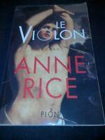 Le violon - Anne Rice - Plon