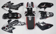 Black Body Plastics Decals Emblem Stickers SSR Thumpstar Honda CRF50 XR50 Bike 9
