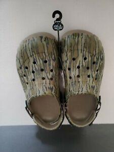 Crocs Offroad Sport Mossy Oak Bottomland Clog Mossy Camo Size Mens 7 Womens 9