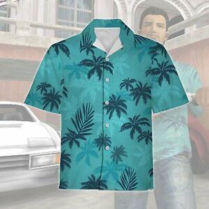 GTA Tommy Vercetti Hawaiian shirt & shorts,Grand Theft Auto Vice City Full Size