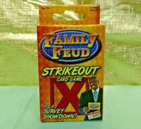 Family Feud Strikeout Card Game Steve Harvey Game Show Box Survey Showdown # 876