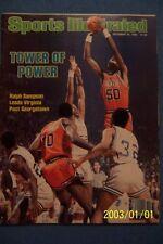 1982 Sports Illustrated VIRGINIA CAVALIERS vs Georgetown RALPH SAMPSON No Label