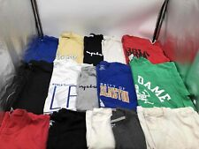 Mixed Lot of 15 Used Champion Unisex Cotton T-Shirts - Size Large