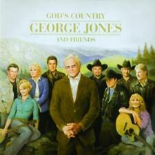 God's Country: George Jones & And Friends - Various (NEW CD)