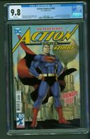 Action Comics #1000 CGC 9.8 1st Print Jim Lee Cover Edition 80 Years 80 Pages
