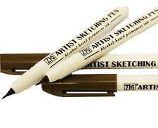 Zig - Kuretake Artist Sketching Marker Pen - Sepia or Black by One