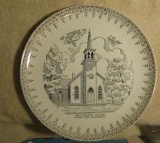 German Methodist Church Sleepy Eye MN Glass Plate Bauer Walker Leazer