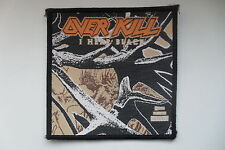 Overkill Over Kill I Hear Black Sew On patch music