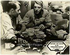 "Burt Lancaster in ""Run Silent, Run Deep"", German lobby card from 1958"