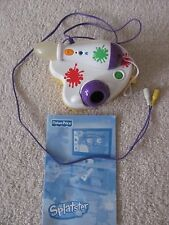 FISHER PRICE SPLATSTER ART ELECTRONIC DRAWING PLUG IN PLAY TV VIDEO GAME SYSTEM